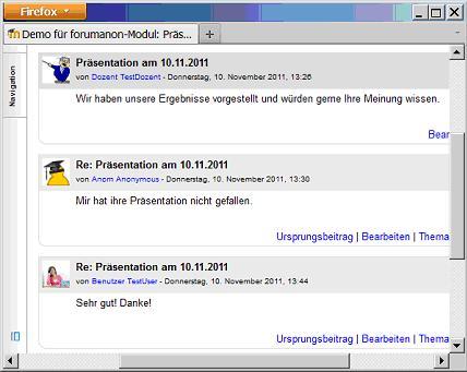 Call for Papers: Anonymisierungsfunktion für das Forum-Modul der Lernplattform Moodle