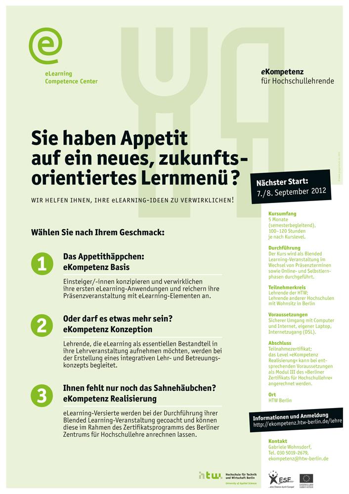 Weiterbildungskurs an der HTW Berlin