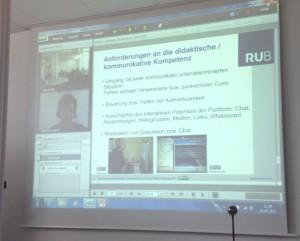 Webkonferenz nach Bochum
