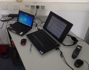 Bild vom Arbeitsplatz