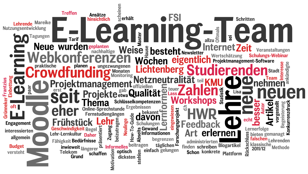 E-Learning Newsletter 2013