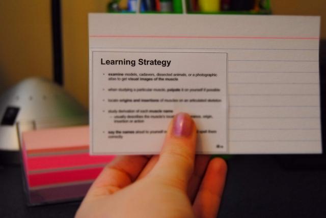 Study Tips - MeganLynnette Quelle: Flickr