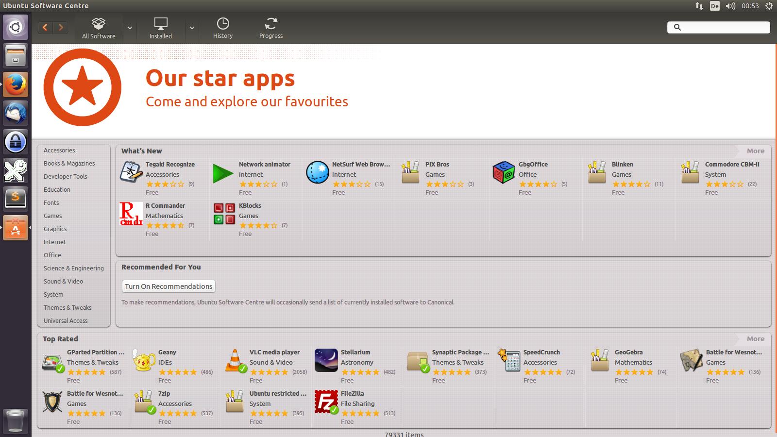 E-Learning-Anwendungen unter Ubuntu Linux Desktop 14.04 LTS, Teil 2/3