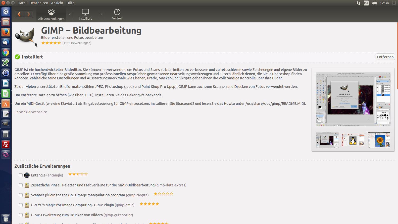 E-Learning-Anwendungen unter Ubuntu Linux Desktop 14.04 LTS, Teil 3/3