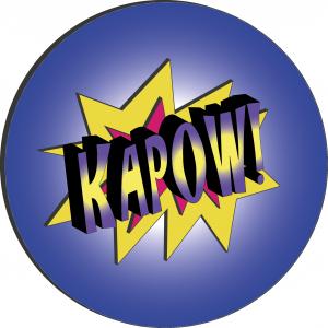 Abb. 1: Kapow! (Quelle: selbsterstellte Grafik, Lizenz: CC0)