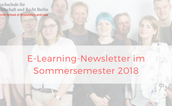 E-Learning-Newsletter im Sommersemester 2018