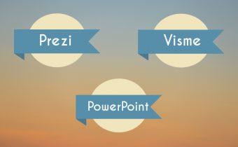 Pimp up your presentation: Vergleich von Präsentationstools