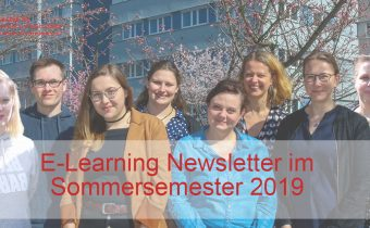 E-Learning Newsletter Sommersemester 2019