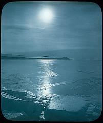 Wasser in 3 Aggregatzuständen (Antarctica, 1921)